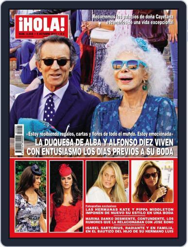 Hola September 29th, 2011 Digital Back Issue Cover