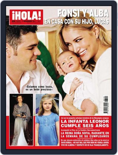 Hola (Digital) November 2nd, 2011 Issue Cover