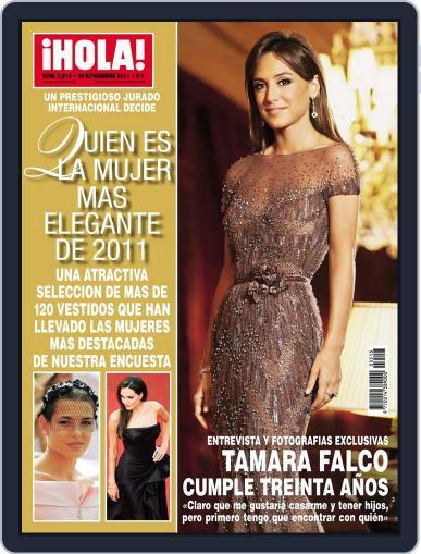 Hola (Digital) November 23rd, 2011 Issue Cover