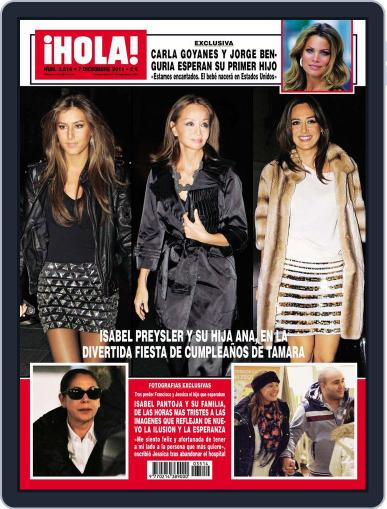 Hola (Digital) November 30th, 2011 Issue Cover