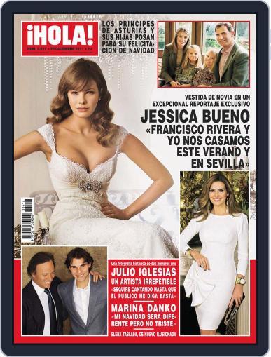 Hola December 21st, 2011 Digital Back Issue Cover