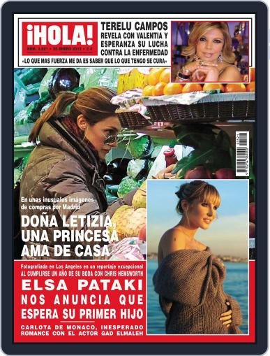 Hola January 18th, 2012 Digital Back Issue Cover