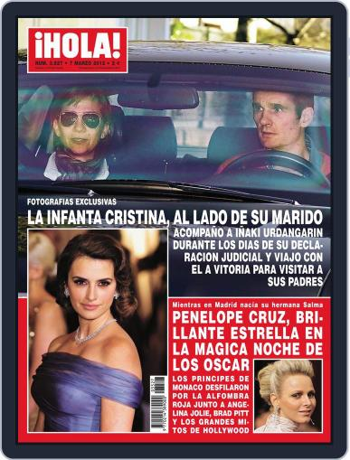 Hola February 29th, 2012 Digital Back Issue Cover