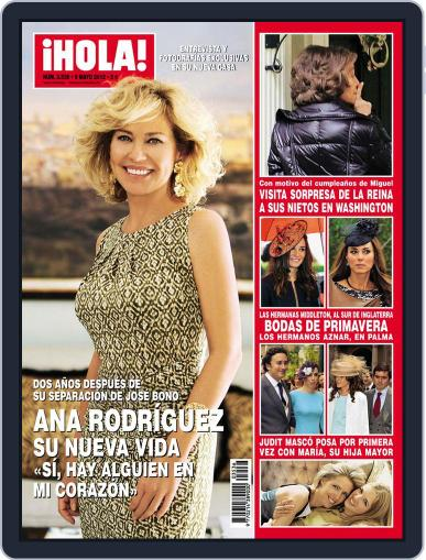 Hola May 2nd, 2012 Digital Back Issue Cover