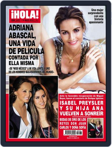 Hola May 9th, 2012 Digital Back Issue Cover