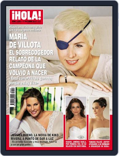 Hola October 10th, 2012 Digital Back Issue Cover