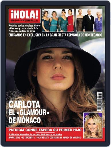 Hola November 21st, 2012 Digital Back Issue Cover