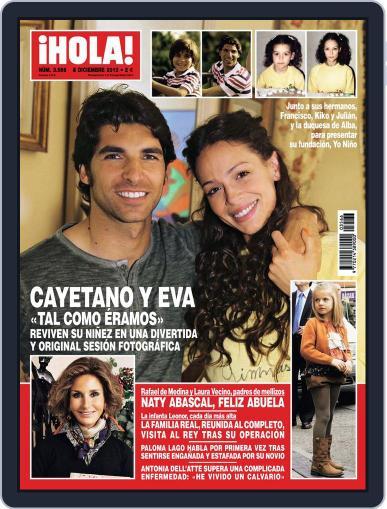 Hola (Digital) November 28th, 2012 Issue Cover