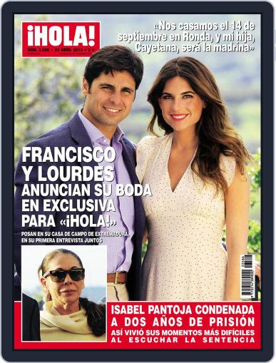 Hola (Digital) April 17th, 2013 Issue Cover