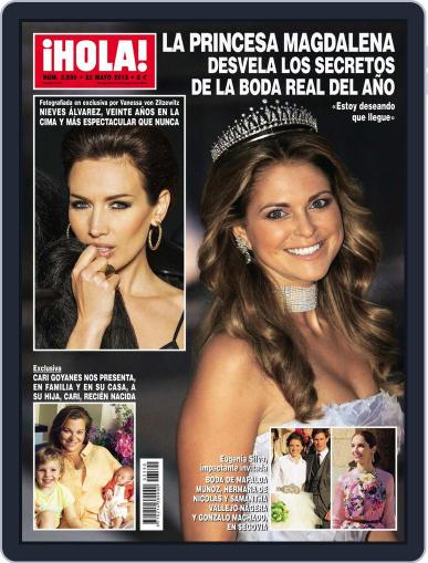 Hola (Digital) May 15th, 2013 Issue Cover