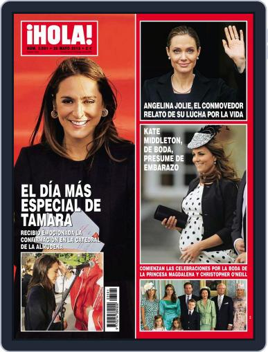 Hola (Digital) May 22nd, 2013 Issue Cover