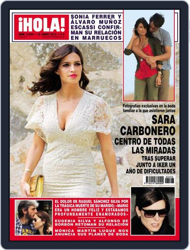 Hola (Digital) June 5th, 2013 Issue Cover