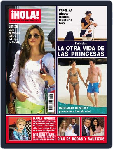 Hola June 19th, 2013 Digital Back Issue Cover