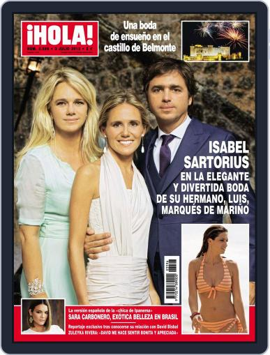 Hola (Digital) June 26th, 2013 Issue Cover
