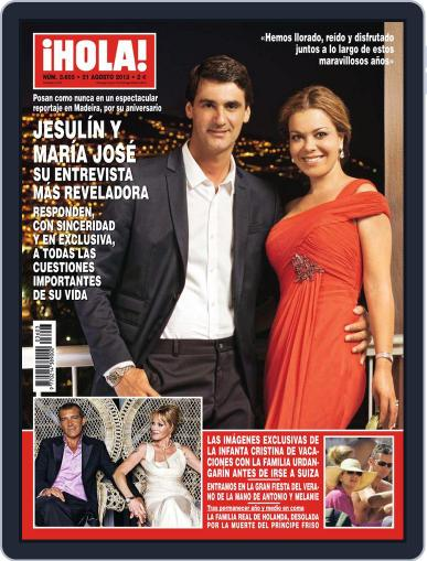 Hola (Digital) August 14th, 2013 Issue Cover