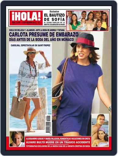 Hola (Digital) August 28th, 2013 Issue Cover