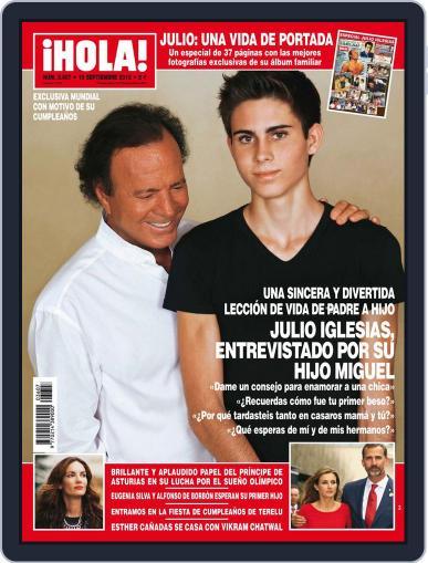 Hola (Digital) September 11th, 2013 Issue Cover