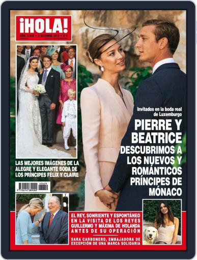 Hola (Digital) September 25th, 2013 Issue Cover