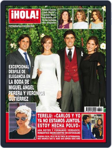 Hola October 23rd, 2013 Digital Back Issue Cover