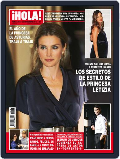 Hola November 13th, 2013 Digital Back Issue Cover