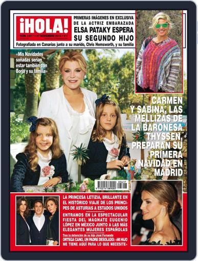 Hola (Digital) November 20th, 2013 Issue Cover