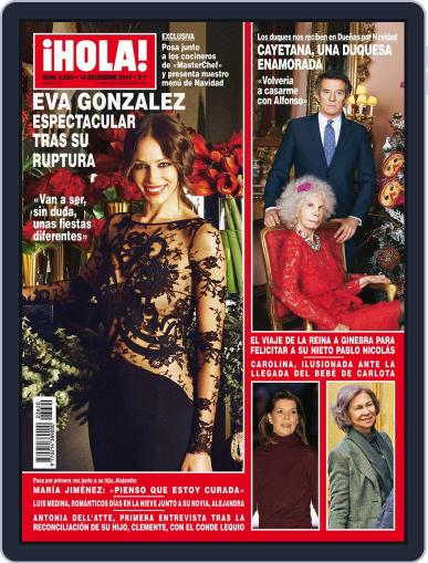 Hola (Digital) December 11th, 2013 Issue Cover