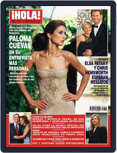 Hola January 15th, 2014 Digital Back Issue Cover