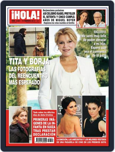 Hola February 12th, 2014 Digital Back Issue Cover