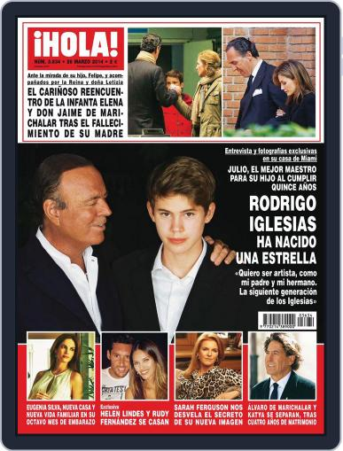 Hola March 19th, 2014 Digital Back Issue Cover