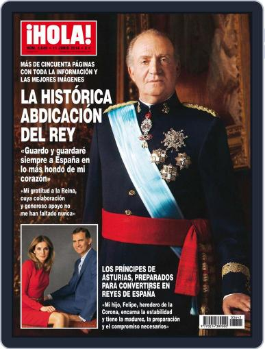 Hola (Digital) June 10th, 2014 Issue Cover