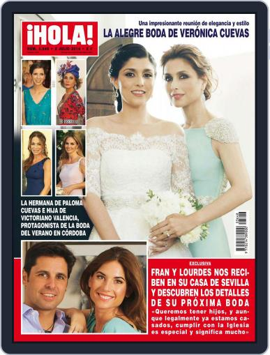 Hola (Digital) June 25th, 2014 Issue Cover