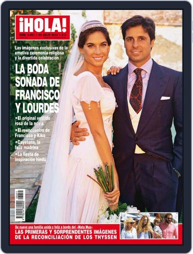Hola July 23rd, 2014 Digital Back Issue Cover