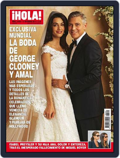 Hola (Digital) October 8th, 2014 Issue Cover