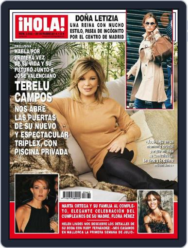 Hola October 29th, 2014 Digital Back Issue Cover