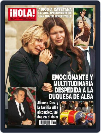 Hola (Digital) December 3rd, 2014 Issue Cover