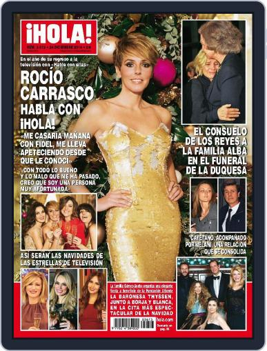 Hola December 24th, 2014 Digital Back Issue Cover