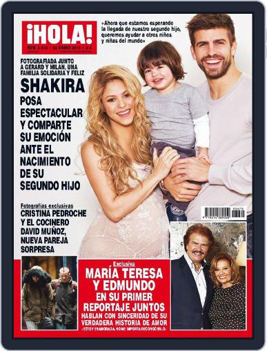 Hola January 28th, 2015 Digital Back Issue Cover