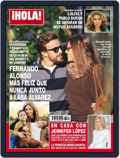 Hola (Digital) February 4th, 2015 Issue Cover