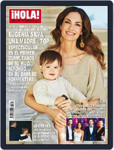 Hola (Digital) March 25th, 2015 Issue Cover