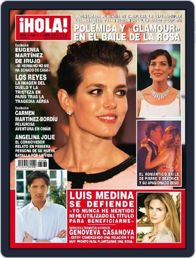 Hola (Digital) April 8th, 2015 Issue Cover