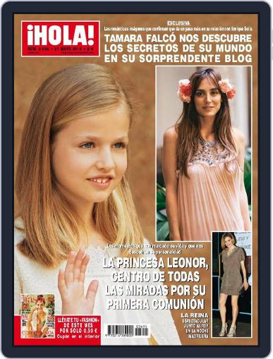 Hola (Digital) May 27th, 2015 Issue Cover