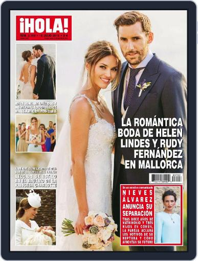 Hola July 15th, 2015 Digital Back Issue Cover