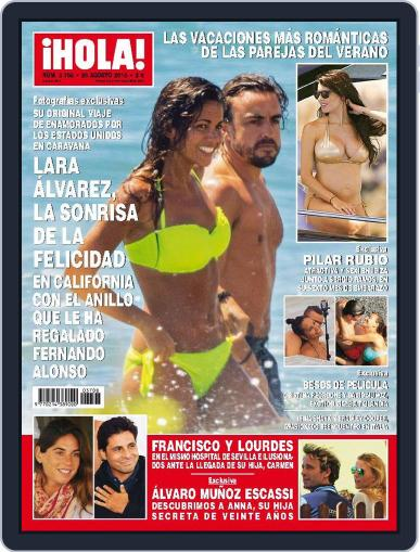 Hola (Digital) August 26th, 2015 Issue Cover