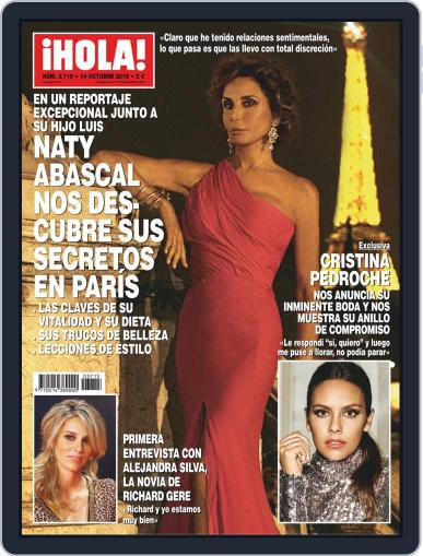 Hola October 14th, 2015 Digital Back Issue Cover
