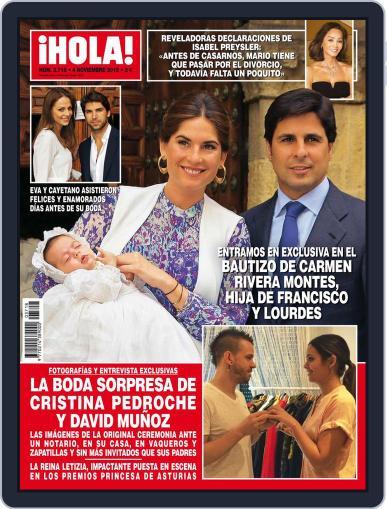 Hola (Digital) November 4th, 2015 Issue Cover
