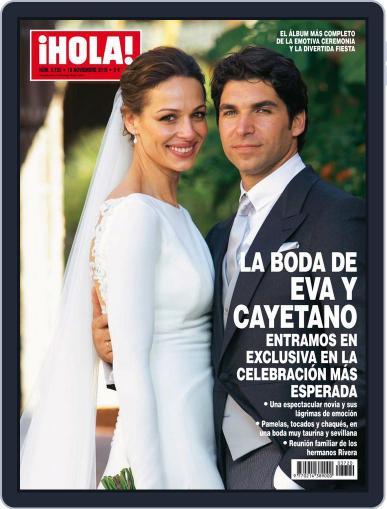 Hola (Digital) November 12th, 2015 Issue Cover