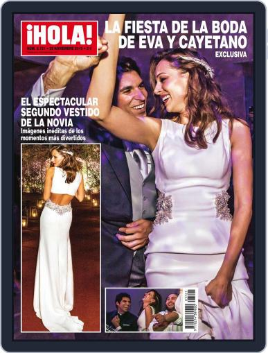 Hola (Digital) November 16th, 2015 Issue Cover