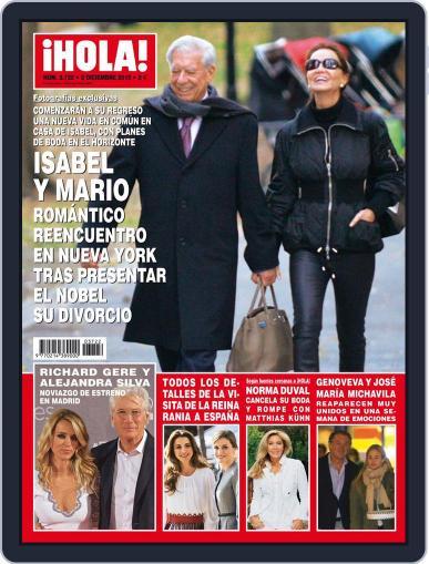 Hola November 25th, 2015 Digital Back Issue Cover