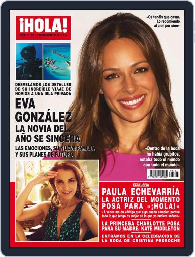 Hola (Digital) December 2nd, 2015 Issue Cover