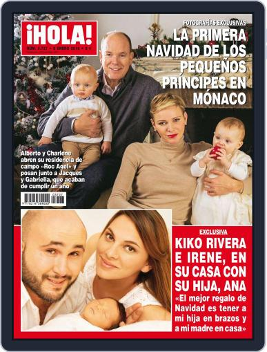 Hola December 30th, 2015 Digital Back Issue Cover